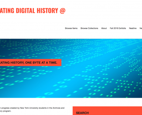 Creating Digital History